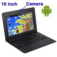 WolVol NEW (Android 4.0 - 1GB RAM) SOLID BLACK 10inch Laptop Notebook Netbook PC, WiFi and Camera with Flash Player (Inclu...  Order at http://www.amazon.com/WolVol-NEW-Android-4-0-Notebook/dp/B0080F3B94/ref=zg_bs_1232596011_7/178-7241165-2345733?tag=bestmacros-20