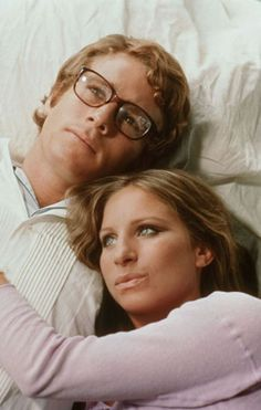 "Barbra Streisand and Ryan O'Neal in ""What's up Doc?"""