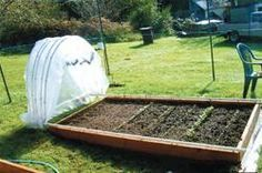 """This is very clever... movable for working and also if it is a nice day... to leave exposed... FARM SHOW - """"Hoop House"""" Glides Open And Closed"""