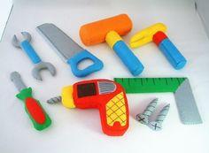 diy felt tools and tool box