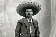 Emiliano Zapata, one of the leaders in the Mexican Revolution