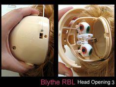 RBL Blythe Head Opening by Blythe Tutorials, via Flickr