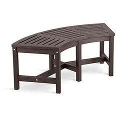 Curved Garden Bench Fire Pit Furniture Gas Fire Pit