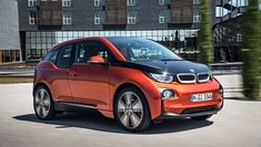 Idea: On brand less the (American) Crafted Indulgent Organic American  Convert to pull a mock apple cart (trailer with trade show collateral.   2014 BMW i3 electric car