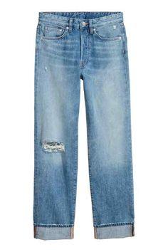 Vintage Straight Jeans