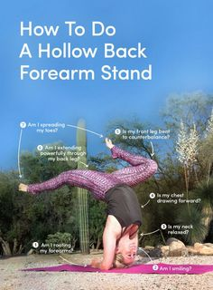 """MindBodyGreen: 8 Tips To Practice A """"Hollow Back"""" Forearm Stand (Infographic) From the Downdog Diary Yoga Blog found exclusively at DownDog Boutique. DownDog Diary brings together yoga stories from around the web on Yoga Lifestyle... Read more at DownDog Diary"""