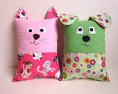 Got this off Etsy.  This woman is truly creative and sells several precious patterns.    Dog and Cat Pillow Pattern, PDF Sewing Pattern with Optional Pocket for Tooth Fairy Pillow, Small Pillow for Toddlers to Tweens