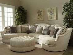 Art Furniture Cotswold Amanda Ivory Living Room Set Art For City Furniture Living Room Sets Renovation Living Room Sofa, Furniture, Sectional Sofa, Curved Couch, Furnishings, Bedroom Furniture, Living Room Sets, Room Furniture Design, Curved Sofa