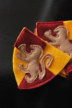 Gryffindor House patch for HP party