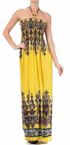 56aabd404f Sakkas-Maxi-Sundresses-Yellow Lilac Color