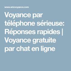 Voyance par téléphone sérieuse: Réponses rapides | Voyance gratuite par chat en ligne