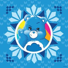 I love my Grumpy Bear ❤️❤️❤️❤️❤️❤️❤️❤️❤️ Care Bears, Grumpy Care Bear, Grumpy Face, Cartoon Charecters, Baby Shower Oso, Hello Kitty Art, Gothic Angel, Bear Coloring Pages, Blue Nose Friends