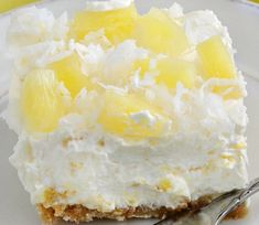 A cool, creamy no-bake vintage dessert that's easy to make and perfect for summer! Ingredients 1 8-oz package cream cheese (softened) 1 cup powdered sugar 1 cup crushed pineapple (drained) 1 8-oz tub whipped topping, like Cool Whip Crust 1/2 cup granulated sugar 1/2 cup melted butter 20 graham crackers, crushed Topping 1/4 cup shredded […]