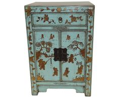 Small Painted Cabinet by Asian Loft Dalani Home Garden Design, Home And Garden, Oriental, Chinese Furniture, Painting Cabinets, My Dream Home, Getting Organized, Interior Styling, Cupboard