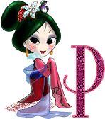 Alfabeto con linda japonesa. | Oh my Alfabetos!