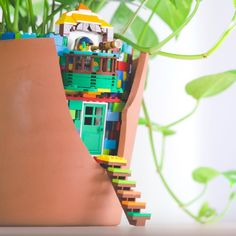 Here's a DIY LEGO brick hack that's been growing on us! #RebuildTheWorld