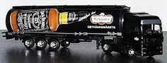 The Jack Daniel's miniatures truck