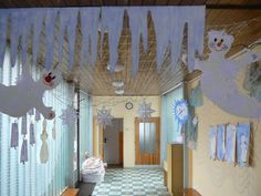 výzdoba Valance Curtains, Activities For Kids, Winter, Crafts, School, Home Decor, Winter Time, Manualidades, Decoration Home