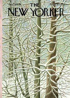 nevver:    The New Yorker    Illustration byIlonka Karasz