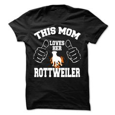 THIS MOM LOVES HER ROTTWEILER !!!! - #tshirt logo #country sweatshirt. BUY-TODAY  => https://www.sunfrog.com/Camping/THIS-MOM-LOVES-HER-ROTTWEILER-.html?id=60505