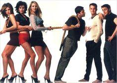 Friends : Foto Courteney Cox, David Schwimmer, Jennifer Aniston, Lisa Kudrow…