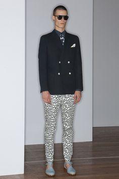 Melinda Gloss Men's RTW Spring 2014 - Slideshow - Runway, Fashion Week, Reviews and Slideshows - WWD.com