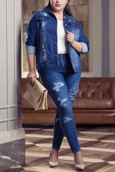RMG Kadın Büyük Beden Mavi Kot Ceket https://modasto.com/rmg/kadin-dis-giyim/br2618ct54