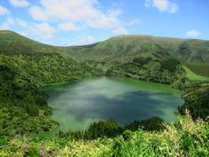 Lagoa Funda, Flores, Azores Islands