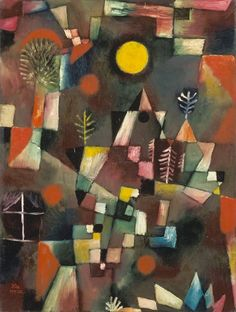 Titolo dell'immagine : Paul Klee - The full moon.