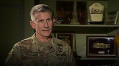 The head of US forces in Afghanistan accuses Russia of destabilising activity, in a BBC interview.