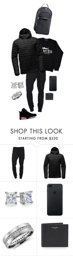"""D.C. Day 1"" by destinee1019 ❤ liked on Polyvore featuring Song for the Mute, Brian Lichtenberg, The North Face, Blue Nile, Yves Saint Laurent, Louis Vuitton, men's fashion and menswear"