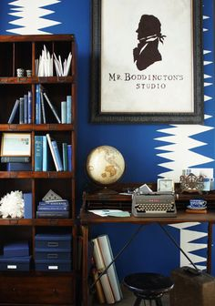 Blue and white decor - Design bleu cobalt