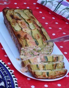Flan Saumon-courgette, Recette de Flan Saumon-courgette par Les P'tits Desserts