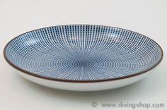 Porzellan Teller Sendan Tokusa Japan Unterteller Dessertteller Geschirr plate
