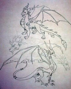 Spyro and Cynder Adult by twisted wind on deviantART. This fierce pair look ready for battle!