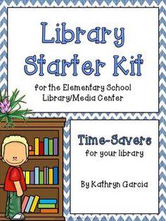 Library Starter Kit for the Elementary School Library/Medi