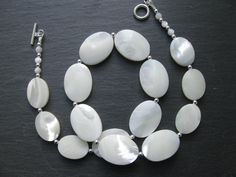 Mother of Pearl necklace. SOLD