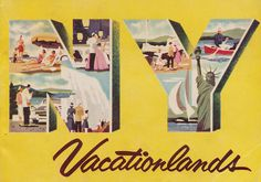 NY Vacationlands by The Pie Shops Collection, via Flickr