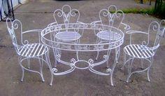 Döküm Ferforje Masa Sandalye Modelleri | Döküm Kalıp ve Parça Tasarımı - Karmak