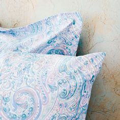 Image 5 of the product Lilac paisley print duvet cover