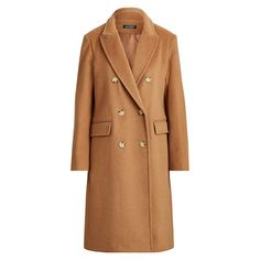 For the Massimo Dutti Limited Edition Button Cashmere Wool Camel Coat