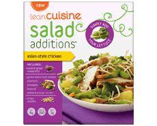 7 Points....convenient....Lean Cuisine Salad Additions™: Lean Cuisine Asian-Style Chicken Salad