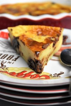 Clafoutis au Nutella – dessert rapide et facile Quick Dessert Recipes, Quick Easy Desserts, Quick Easy Meals, Spareribs, Eat This, Good Foods For Diabetics, Food For A Crowd, Chocolate Desserts, Bento