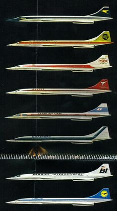 Concorde, the Airlines that had ordered the Concorde
