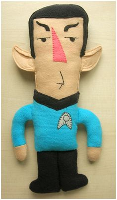 Felt Spock-Notch Plush Doll