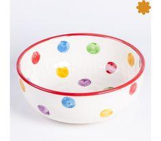 Frutera Consigue esta cerámica decorada en nuestras tiendas y en la web Descubre esta cerámica original en la tienda on-line o en nuestras tiendas físicas. Si deseas adquirir esta cerámica delunares al por mayor, contacta con nosotros