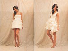 Short dress for reception?