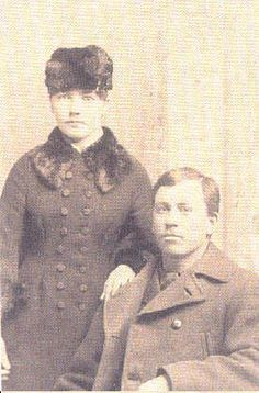 Almanzo and Laura Ingalls Wilder