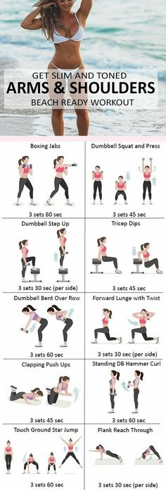 Get #Slim And Arms & Shoulders Beach Ready #Workout #fitness