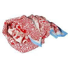 Rob Ryan silk scarf
